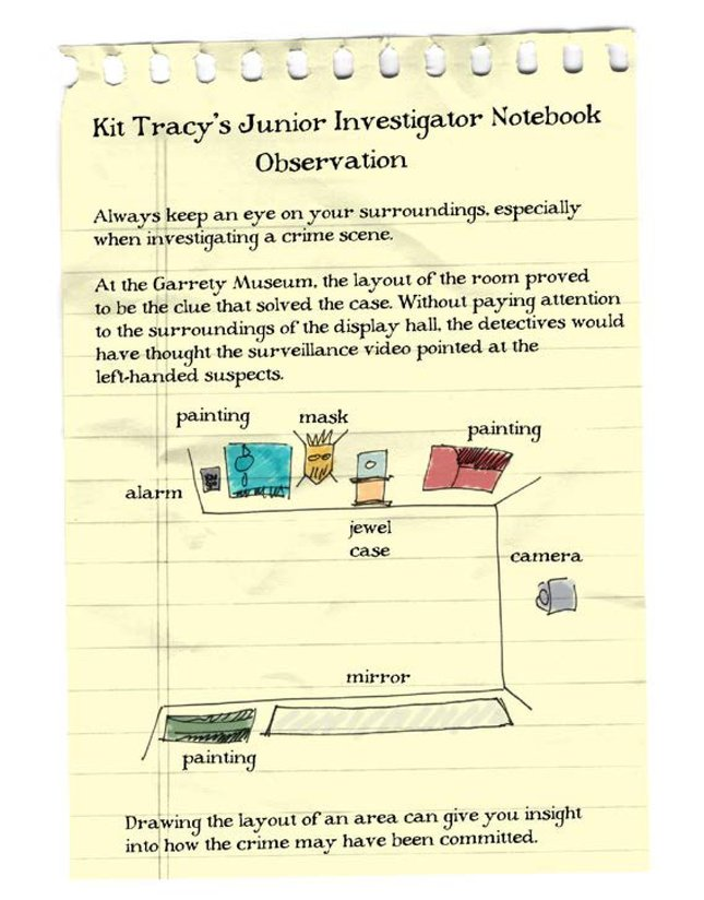 Book Preview For Kit Tracy, Junior Investigator: The Museum Caper Page 12