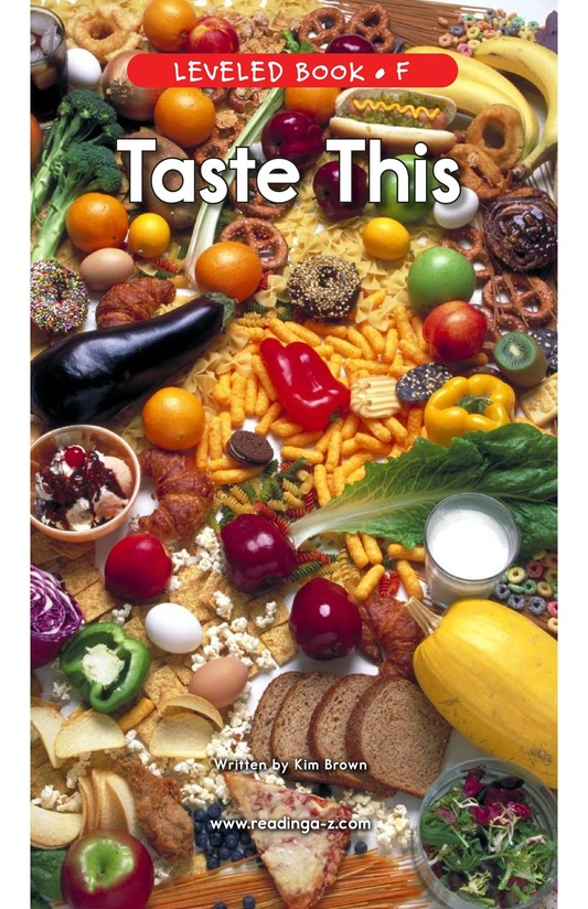 Book Preview For Taste This Page 1