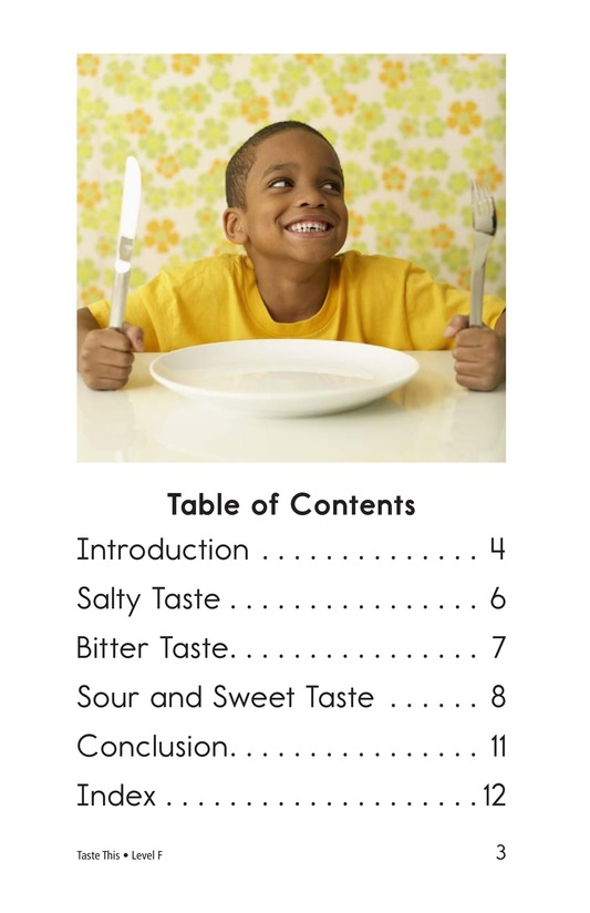 Book Preview For Taste This Page 3