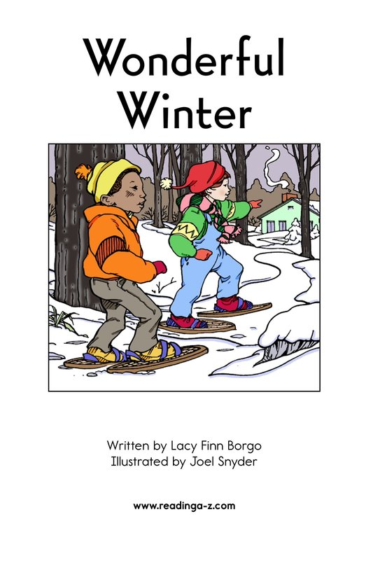 Book Preview For Wonderful Winter Page 2