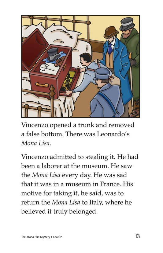 Book Preview For The Mona Lisa Mystery Page 13