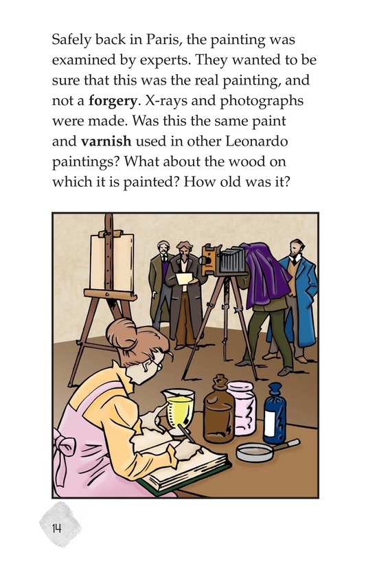 Book Preview For The Mona Lisa Mystery Page 14