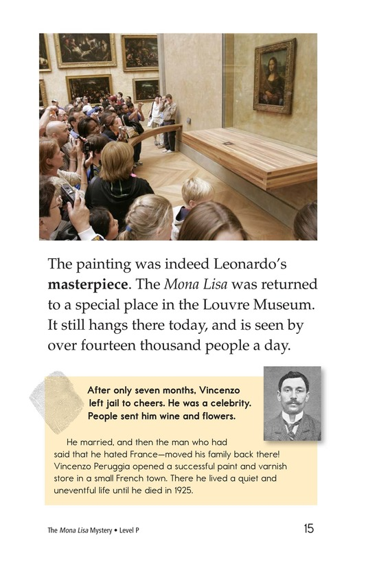 Book Preview For The Mona Lisa Mystery Page 15