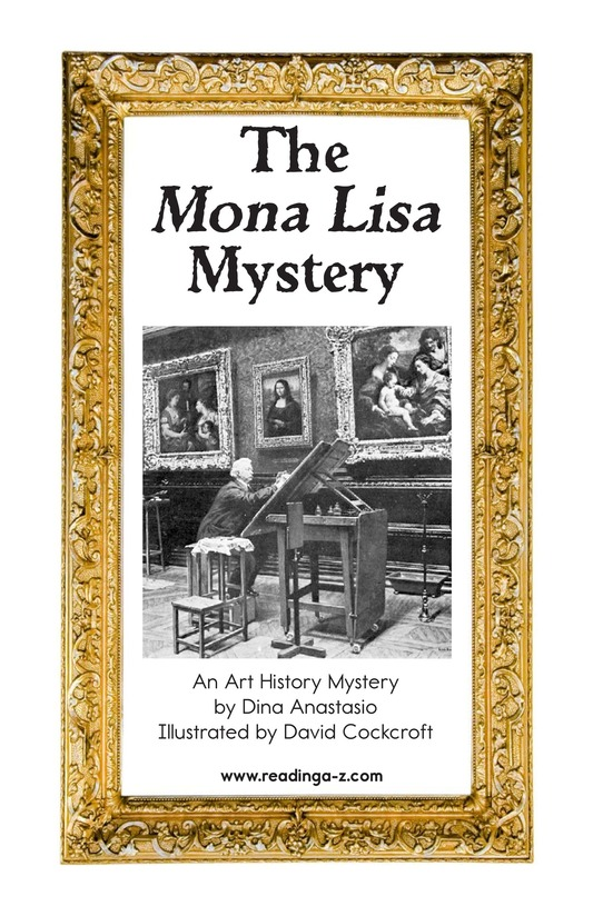Book Preview For The Mona Lisa Mystery Page 2
