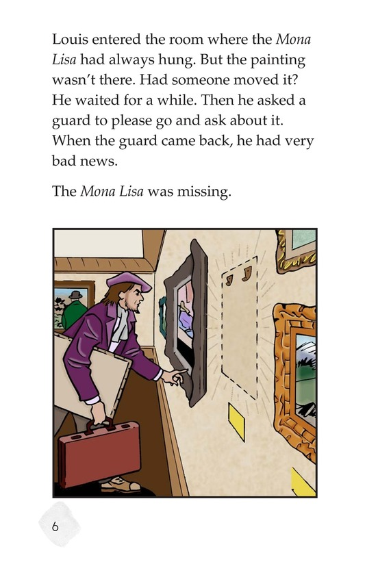 Book Preview For The Mona Lisa Mystery Page 6