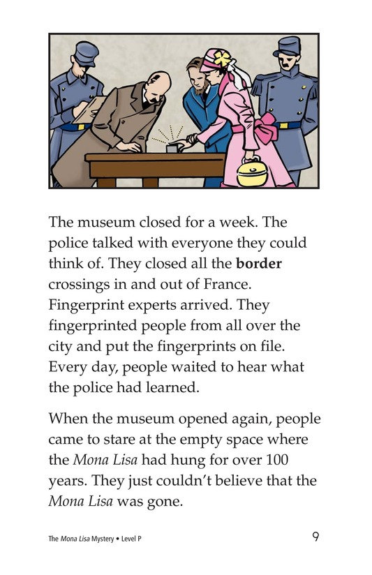 Book Preview For The Mona Lisa Mystery Page 9