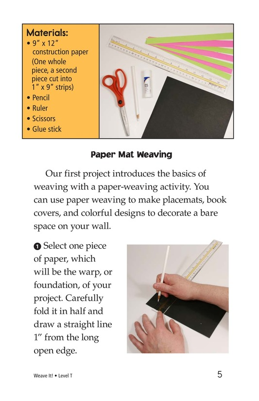 Book Preview For Weave It! Page 5