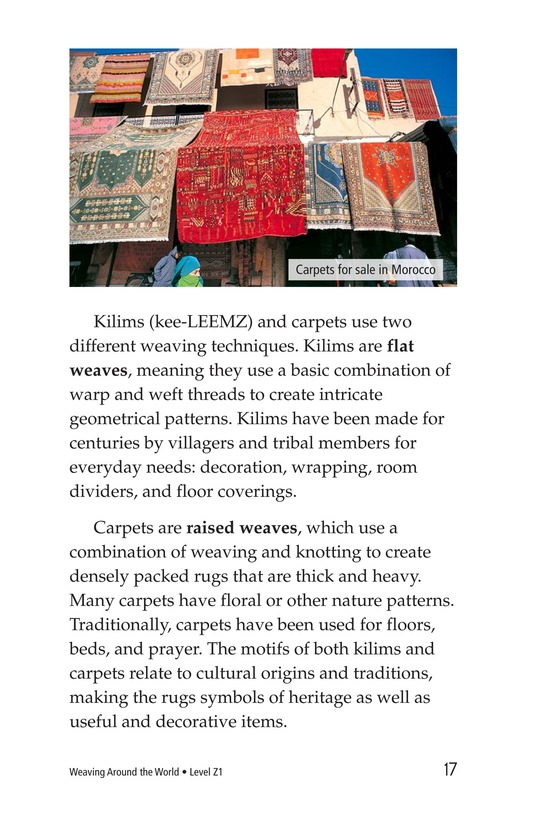 Book Preview For Weaving Around the World Page 17