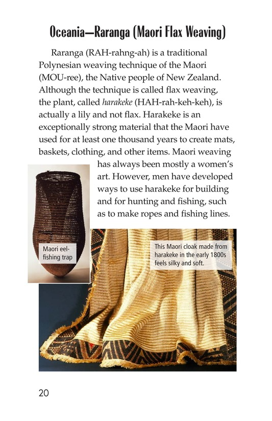 Book Preview For Weaving Around the World Page 20
