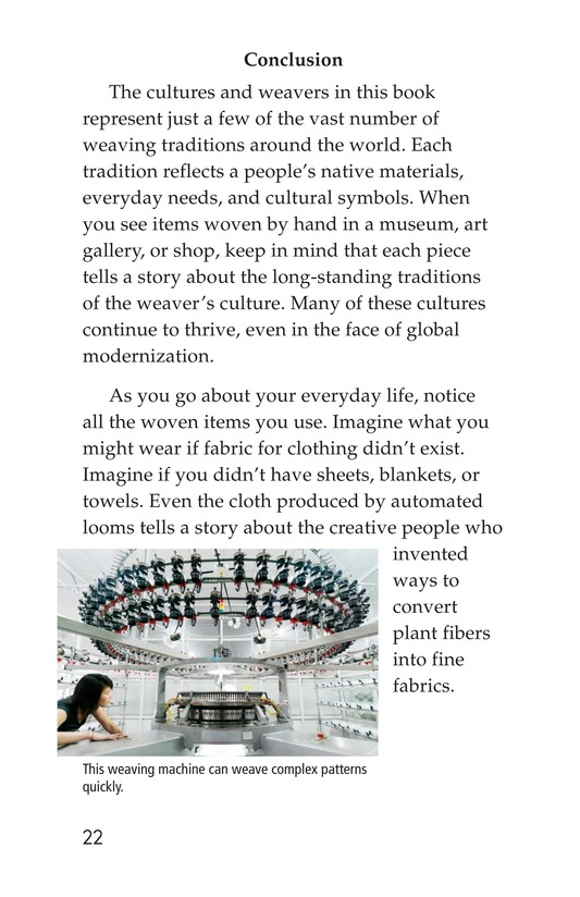 Book Preview For Weaving Around the World Page 22