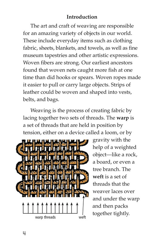 Book Preview For Weaving Around the World Page 4