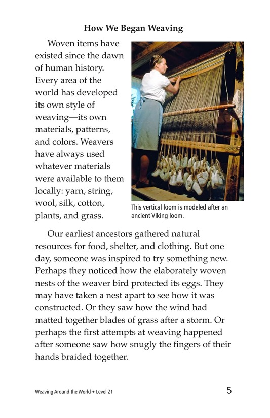 Book Preview For Weaving Around the World Page 5