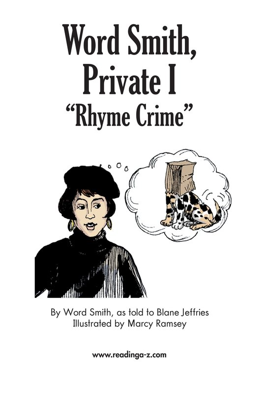 Book Preview For Word Smith, Private I