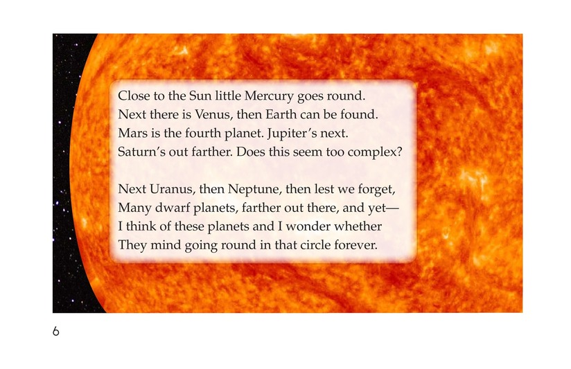 Book Preview For Planets of My Solar System Page 6