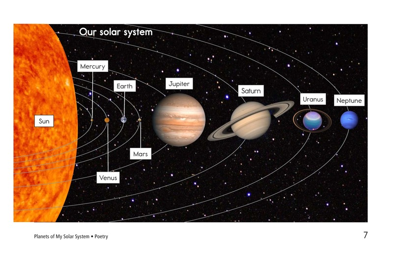 Book Preview For Planets of My Solar System Page 7