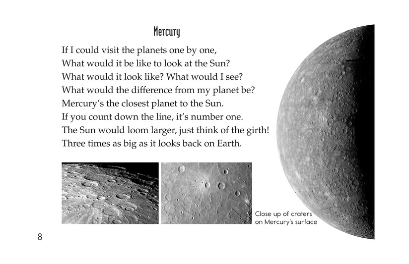 Book Preview For Planets of My Solar System Page 8