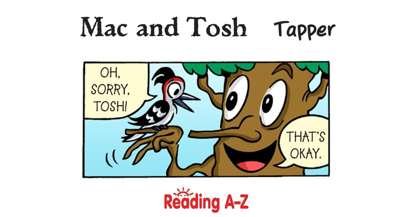Book Preview For Mac and Tosh: Tapper Page 2