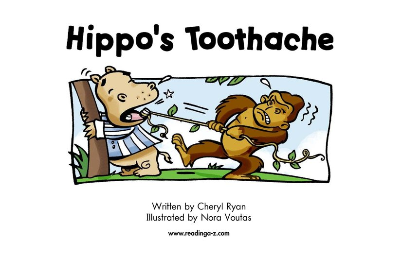 Book Preview For Hippo's Toothache Page 2