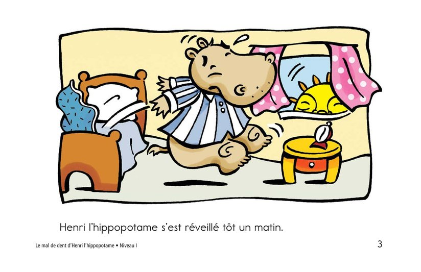 Book Preview For Hippo's Toothache Page 3