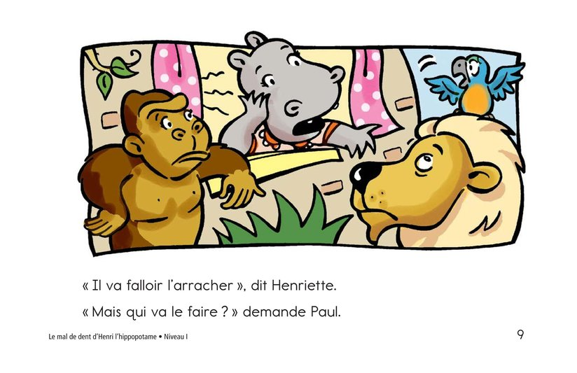 Book Preview For Hippo's Toothache Page 9