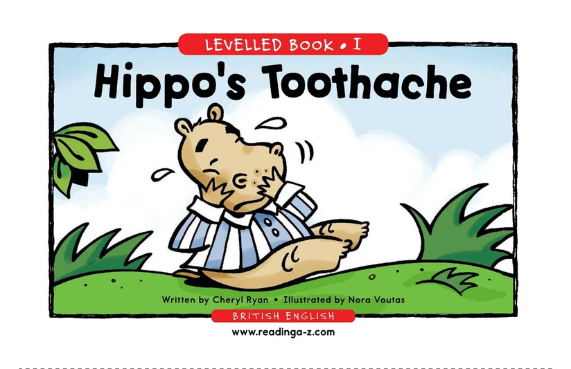 Book Preview For Hippo's Toothache Page 1