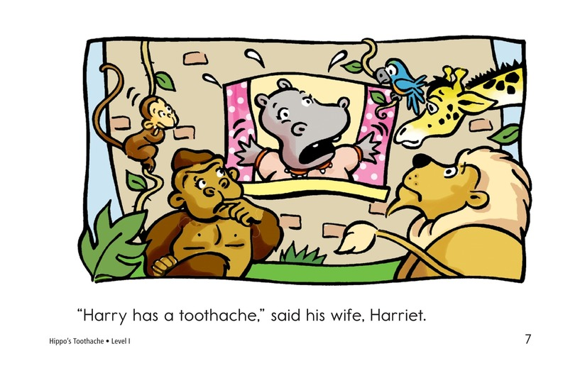 Book Preview For Hippo's Toothache Page 7