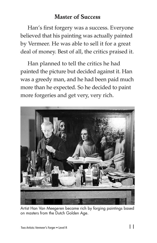 Book Preview For Two Artists: Vermeer's Forger Page 11