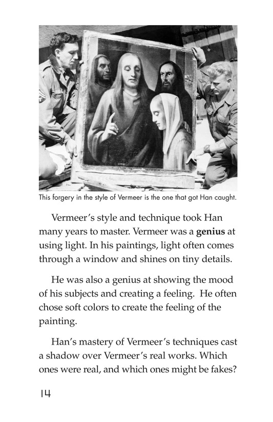 Book Preview For Two Artists: Vermeer's Forger Page 14