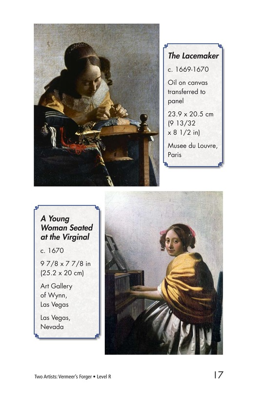 Book Preview For Two Artists: Vermeer's Forger Page 17