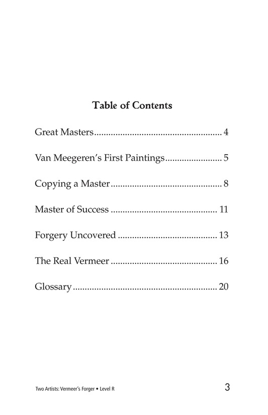 Book Preview For Two Artists: Vermeer's Forger Page 3