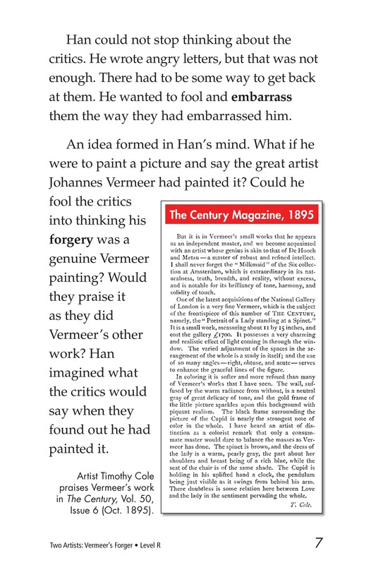 Book Preview For Two Artists: Vermeer's Forger Page 7