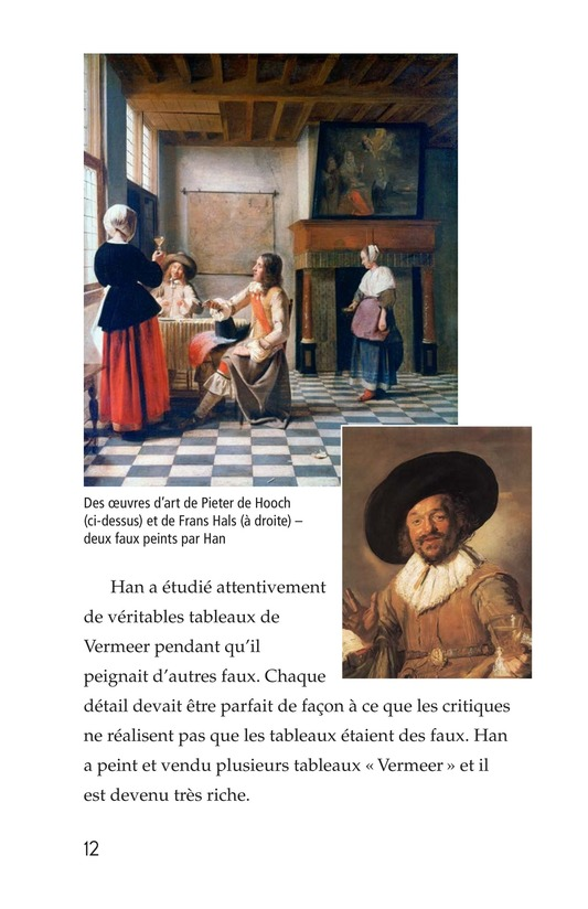 Book Preview For Two Artists: Vermeer's Forger Page 12