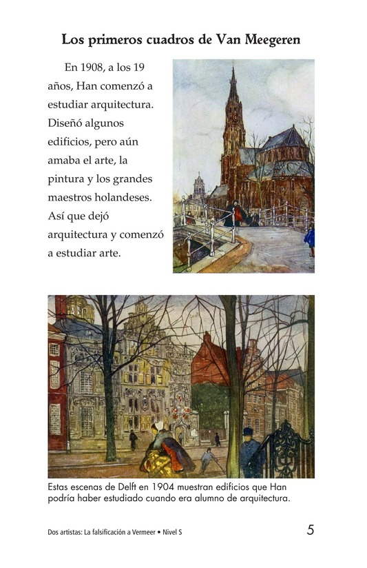 Book Preview For Two Artists: Vermeer's Forger Page 5