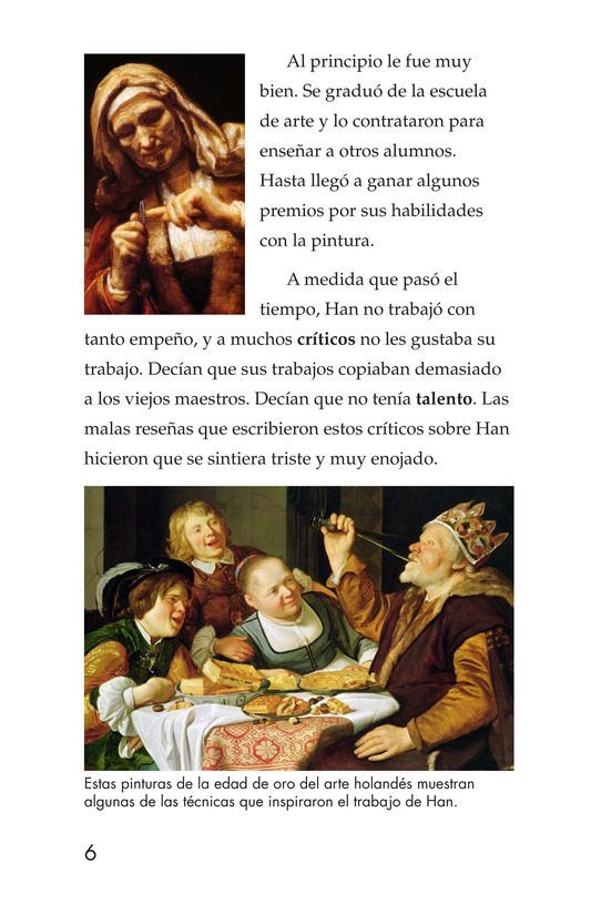 Book Preview For Two Artists: Vermeer's Forger Page 6