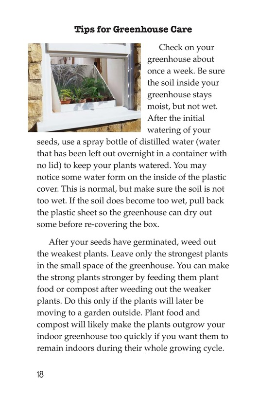 Book Preview For How to Build a Greenhouse Page 18