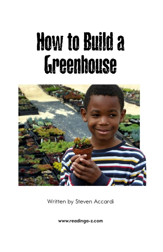 Book Preview For How to Build a Greenhouse Page 2