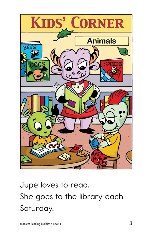 Book Preview For Monster Reading Buddies Page 3