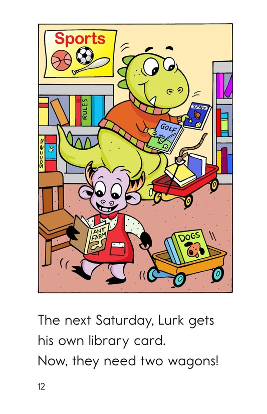 Book Preview For Monster Reading Buddies Page 12