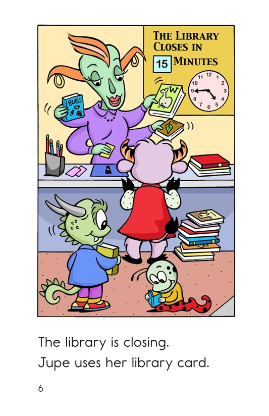 Book Preview For Monster Reading Buddies Page 6