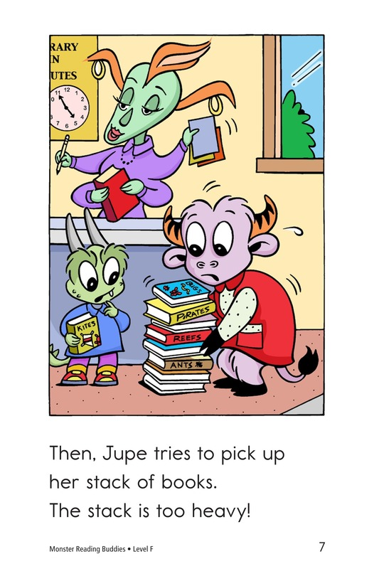 Book Preview For Monster Reading Buddies Page 7