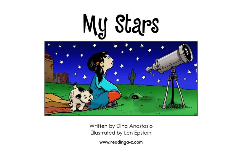 Book Preview For My Stars Page 2