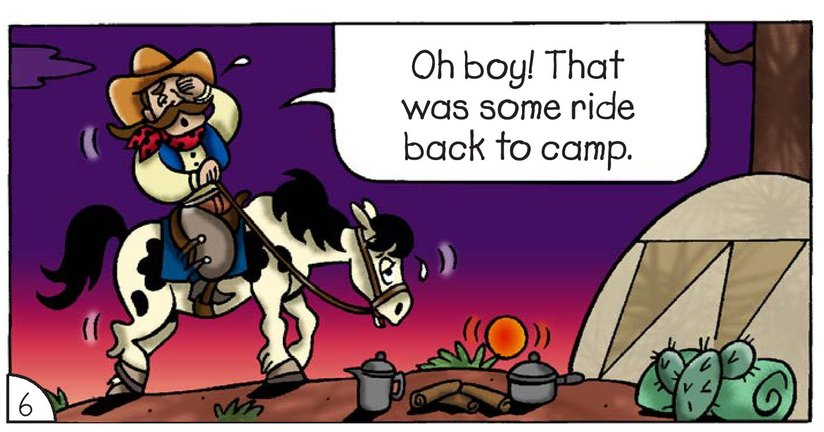 Book Preview For Cowboy Dave: Saddle Sore Page 8