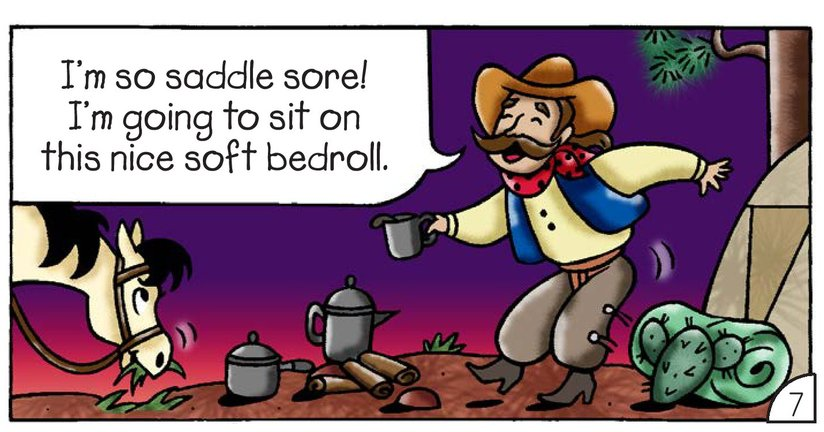 Book Preview For Cowboy Dave: Saddle Sore Page 9