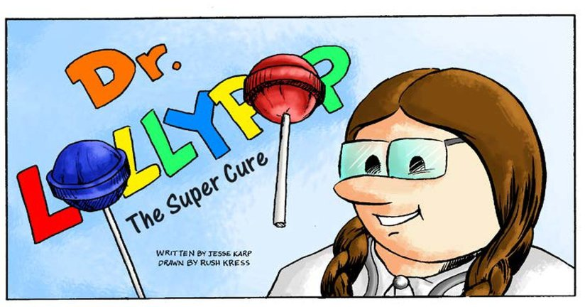 Book Preview For Dr. Lollypop: The Super Cure Page 1