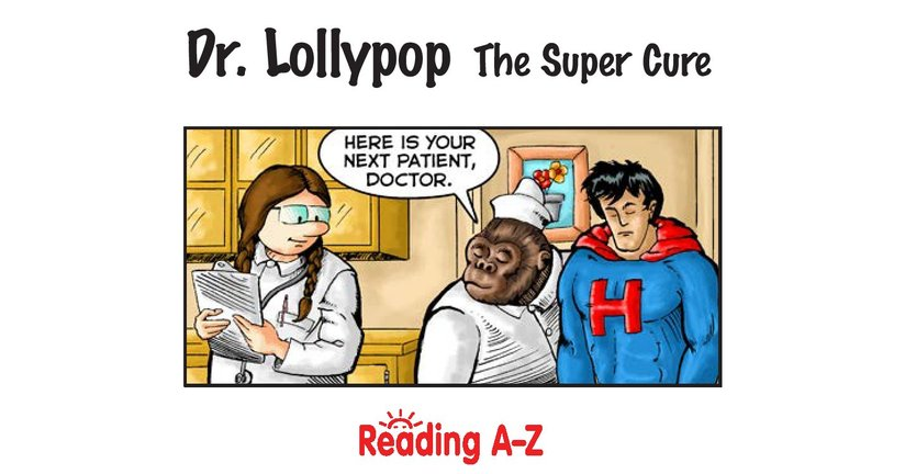 Book Preview For Dr. Lollypop: The Super Cure Page 2
