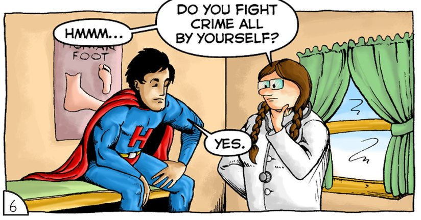 Book Preview For Dr. Lollypop: The Super Cure Page 8