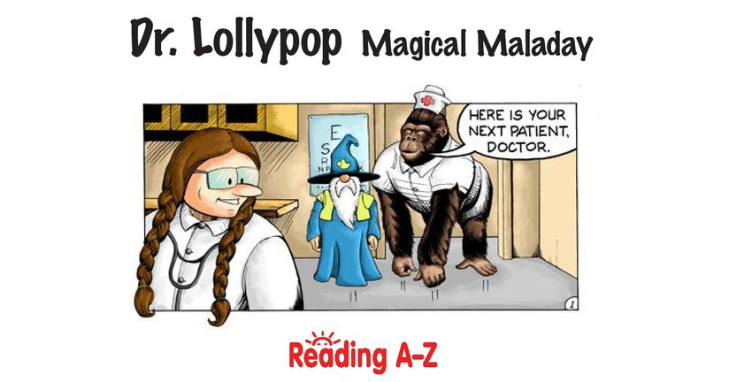 Book Preview For Dr. Lollypop: Magical Malady Page 2