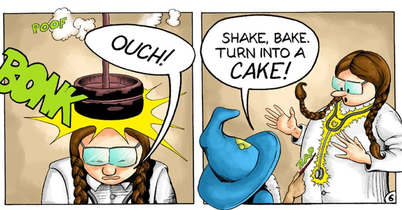 Book Preview For Dr. Lollypop: Magical Malady Page 8