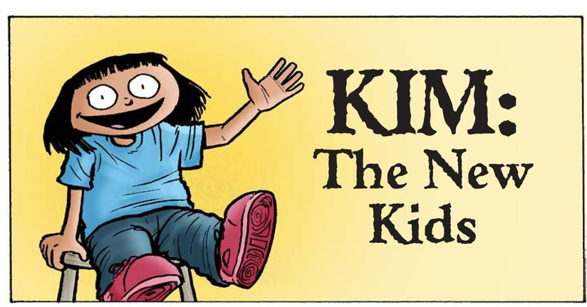 Book Preview For Kim: The New Kids Page 1