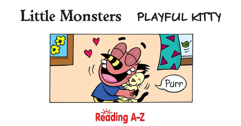 Book Preview For Little Monsters: Playful Kitty Page 2